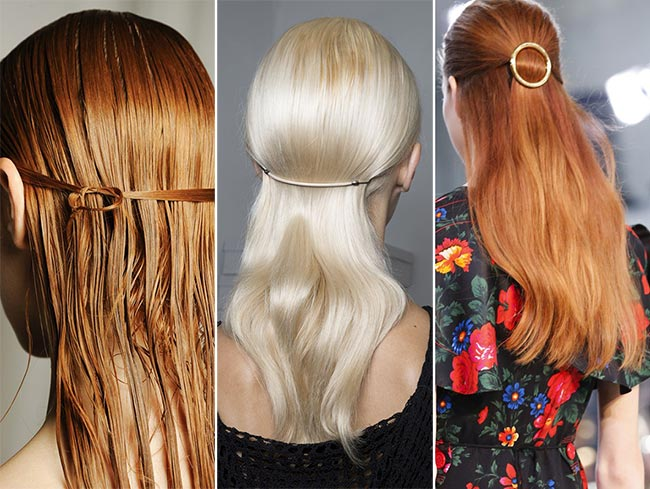 Half-Up Hair  Θυμάστε όταν η μαμά σας έπιανε τα μαλλιά «μισά πάνω μισά  κάτω». Αυτή είναι η νέα τάση στα χτενίσματα bfb499f1fff