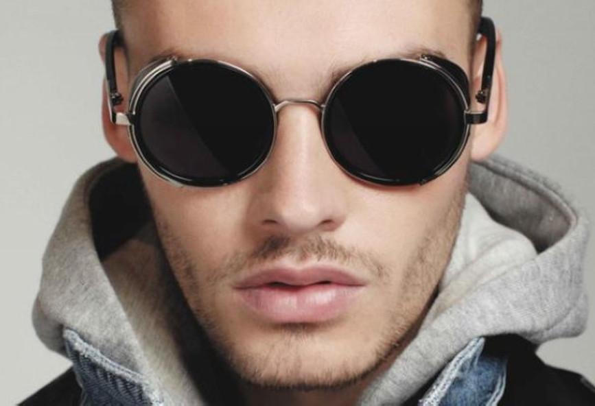 Τα ανδρικά στρογγυλά γυαλιά ηλίου είναι το νέο trend  101ca630d56