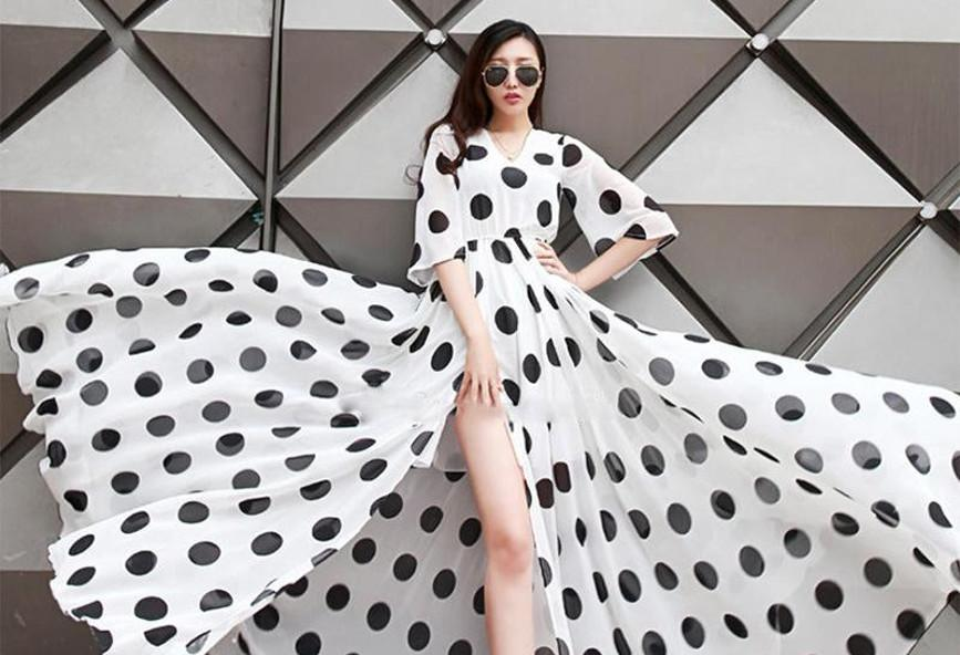 e3add0a3a0c Ασπρόμαυρο πουά: Το απόλυτο fashion trend του 2018 [εικόνες ...
