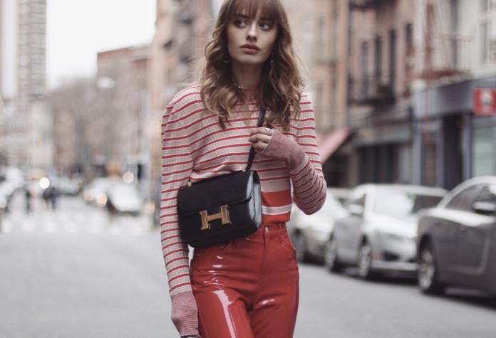 8567dbbf40f8 Leather  vinyl παντελόνια  22 τρόποι να φορέσεις το fashion trend του 2019   βίντεο