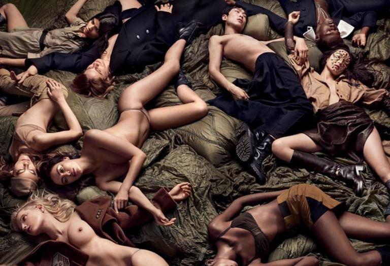 Κάντε έρωτα όχι Πόλεμο: Ένα προκλητικό fashion editorial από το W [εικόνες] - Κεντρική Εικόνα