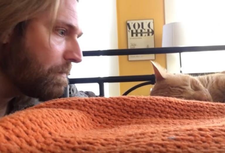 Αυτός ο άνδρας... εκδικήθηκε με έναν μοναδικό τρόπο τη γάτα του [βίντεο] - Κεντρική Εικόνα