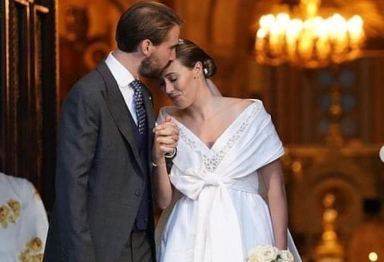 """Δείτε πλάνα από το γάμο του Φίλιππου και της Nina Flohr - Γεμάτος """"γαλαζοαίματους"""" - Κεντρική Εικόνα"""