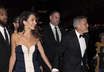 Νέα εμφάνιση των Clooneys - Η Amal έλαμπε πλάι στον πεθερό της [εικόνες] - Κεντρική Εικόνα