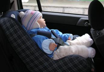 Το παιδί απαγορεύεται να φοράει μπουφάν όταν βρίσκεται σε αυτό το κάθισμα - Κεντρική Εικόνα