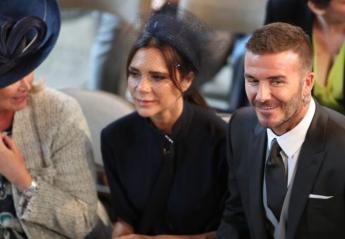 Πολλοί σχολιάζουν κάτι που έκανε ο David Beckham την ώρα του πριγκιπικού γάμου - Κεντρική Εικόνα