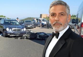 Δείτε το βίντεο από το τροχαίο ατύχημα του George Clooney στην Ιταλία - Κεντρική Εικόνα