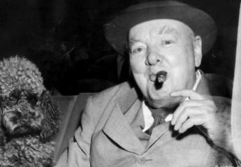 Πωλήθηκε για 10.000 ευρώ μισοκαπνισμένο πούρο του Churchill! (pics) - Κεντρική Εικόνα