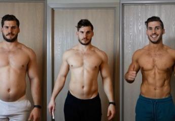Αυτός ο τύπος κατάφερε να γίνει... φέτες μέσα σε 3 μήνες  [βίντεο] - Κεντρική Εικόνα