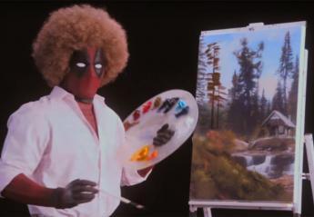 O Ryan μιμείται τον Bob Ross στο ξεκαρδιστικό τρέιλερ του Deadpool 2 [βίντεο] - Κεντρική Εικόνα