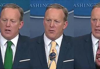 Να γιατί δεν πρέπει να φοράς πράσινη γραβάτα στην τηλεόραση  - Κεντρική Εικόνα