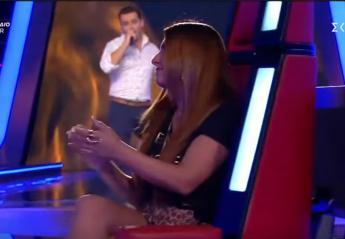 Τον ήθελαν όλοι οι coaches του The Voice, αλλά είχε μάτια μόνο για την Έλενα [βίντεο]  - Κεντρική Εικόνα