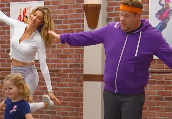 Δείτε τον αστείο χορό της Gisele και του James Corden που έγινε viral [βίντεο] - Κεντρική Εικόνα