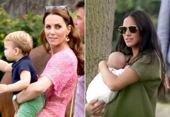 Kate & Meghan πήγαν μαζί με τα παιδιά τους σε αγώνα polo [εικόνες] - Κεντρική Εικόνα