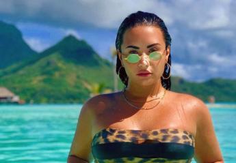 H pop star Demi Lovato έδειξε σε όλους πως έχει κυτταρίτιδα [εικόνα] - Κεντρική Εικόνα