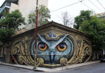Οργή προκαλούν οι βάνδαλοι του αθηναϊκού γκράφιτι με τη  κουκουβάγια [εικόνες] - Κεντρική Εικόνα