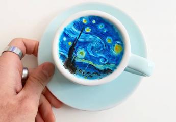 O Instagrammer που κάνει τέχνη με το αφρόγαλα στον καφέ [εικόνες] - Κεντρική Εικόνα