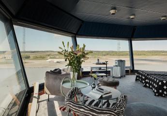 Ένας πύργος ελέγχου αεροδρομίου μεταμορφώθηκε σε... διαμέρισμα [βίντεο] - Κεντρική Εικόνα