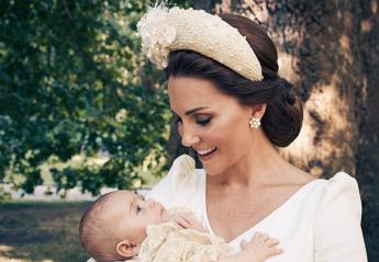 Δείτε τις επίσημες φωτογραφίες από την βάφτιση του πρίγκιπα Louis [εικόνες] - Κεντρική Εικόνα