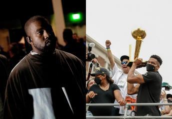 O Kanye West έγραψε στίχους για τον Γιάννη Αντετοκούνμπο [βίντεο] - Κεντρική Εικόνα