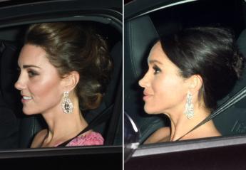 Kate & Meghan φόρεσαν πανάκριβα κοσμήματα στα γενέθλια του πεθερού τους - Κεντρική Εικόνα
