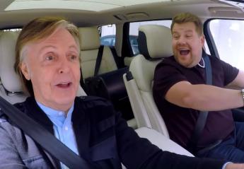 """Δείτε όλο το """"ιστορικό"""" Carpool Karaoke με τον Paul McCartney [βίντεο] - Κεντρική Εικόνα"""