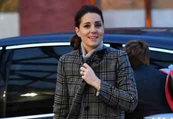 H Kate Middleton φόρεσε ένα απλό παλτό από τα ZARA [εικόνες] - Κεντρική Εικόνα