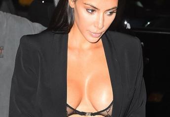 H Kim φόρεσε ένα διάφανο σουτιέν και βγήκε για δείπνο [εικόνες] - Κεντρική Εικόνα