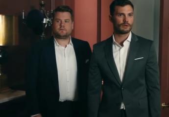 """O James Corden οδηγεί τον Mr Grey στο """"κόκκινο δωμάτιο"""" [βίντεο] - Κεντρική Εικόνα"""
