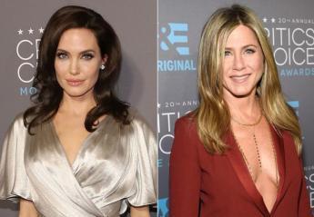 Ποια δίνει καλύτερα φιλιά; Η Angelina Jollie ή η Jennifer Aniston; - Κεντρική Εικόνα