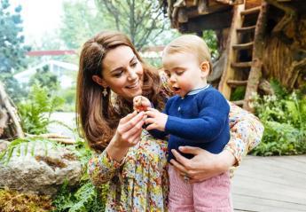 O μικρός πρίγκιπας Louis άρχισε να μιλάει και μάθαμε τι λέει όλη την ώρα  - Κεντρική Εικόνα