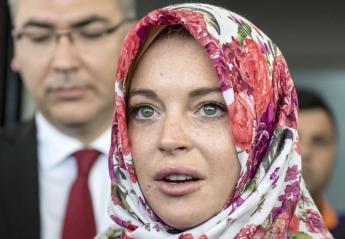 Πολλοί πιστεύουν πως η Lindsay Lohan ασπάστηκε το Ισλάμ - Κεντρική Εικόνα