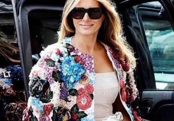 Δεν φαντάζεστε πόσο κοστίζει αυτό το σακάκι της Melania Trump  - Κεντρική Εικόνα
