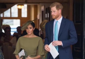 Η Meghan Markle πήγε στην πριγκιπική βάφτιση με ένα λαδί φόρεμα [εικόνες[ - Κεντρική Εικόνα