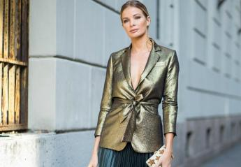 Tα metallics είναι μόδα: 5 τρόποι για να τα φορέσετε [εικόνες] - Κεντρική Εικόνα