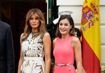H βασίλισσα Letizia και η Melania Trump έχουν (ακριβώς) το ίδιο γούστο;  - Κεντρική Εικόνα