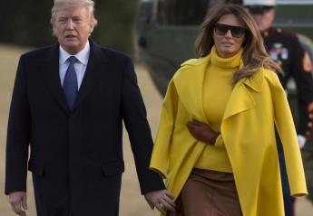 H Melania βρήκε το τέλειο κόλπο για να αποφεύγει το χέρι του Trump; [βίντεο] - Κεντρική Εικόνα