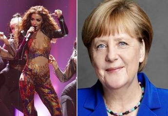 Και η Merkel δηλώνει φαν της Ελένης Φουρέιρα και του Fuego [βίντεο] - Κεντρική Εικόνα