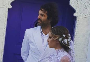 Δείτε την υπέροχη γαμήλια φωτογραφία που έβαλε η Αθηνά Οικονομάκου στο Instagram - Κεντρική Εικόνα