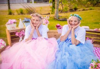 Δίδυμες γιορτάζουν τα 100α γενέθλιά τους και γίνονται viral [εικόνες] - Κεντρική Εικόνα