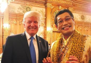 Η συνάντηση Donald Trump - Pikotaro φυσικά έγινε viral [εικόνες] - Κεντρική Εικόνα