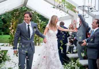 H Gwyneth Paltrow φόρεσε δύο εκπληκτικά outfits στο γάμο της [εικόνες] - Κεντρική Εικόνα