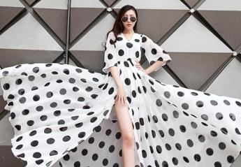 Ασπρόμαυρο πουά: Το απόλυτο fashion trend του 2018 [εικόνες] - Κεντρική Εικόνα