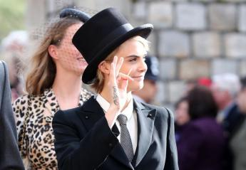 Η Cara Delevingne ντύθηκε σαν άντρας στον πριγκιπικό γάμο [εικόνες] - Κεντρική Εικόνα