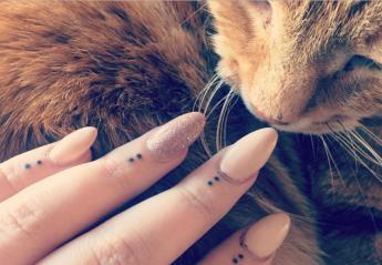 Αυτό είναι το νέο tattoo trend: Λιλιπούτεια τατουάζ στα δάχτυλα [εικόνες] - Κεντρική Εικόνα
