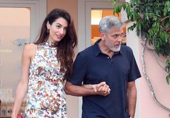 Οι Clooneys ζουν τον έρωτά τους στην Ιταλία [εικόνες] - Κεντρική Εικόνα