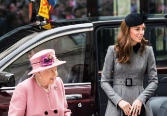 Είδαμε μια σπάνια κοινή εμφάνιση της Kate Middleton και της βασίλισσας [εικόνες] - Κεντρική Εικόνα