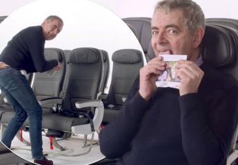 O... Mr Bean είναι απολαυστικός στο νέο σποτ της British Airways [βίντεο] - Κεντρική Εικόνα