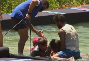 Survivor: Τραυματίστηκε ο Ατακάν - έπαθε πανικό η Σαμπριέ [βίντεο] - Κεντρική Εικόνα