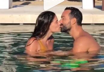 Σάκης & Χριστίνα φιλιούνται στην πισίνα και ξαφνικά κάτι τους διακόπτει [βίντεο] - Κεντρική Εικόνα